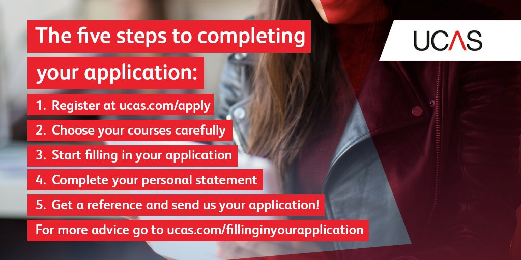 Check where you're up to on your #UCAS application with our handy checklist! https://t.co/XC2pujC4Ju