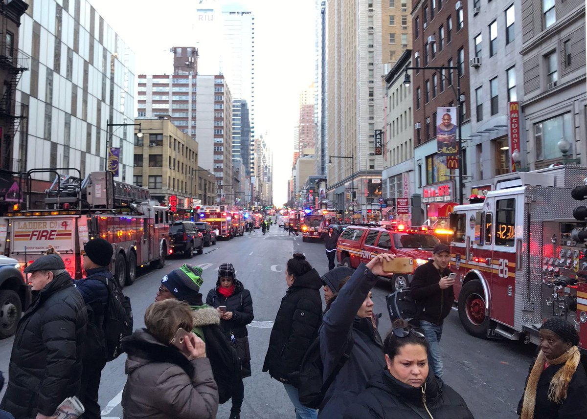 #NewYork mayor says 'This was an attempt...