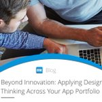 Many IT leaders link #designthinking methods with innovation, but the connection is much more fundamental. There is value in applying design thinking methods across your entire portfolio of application development initiatives. Learn more: https://t.co/bu9GlRbWJ8 #CIO #appdev
