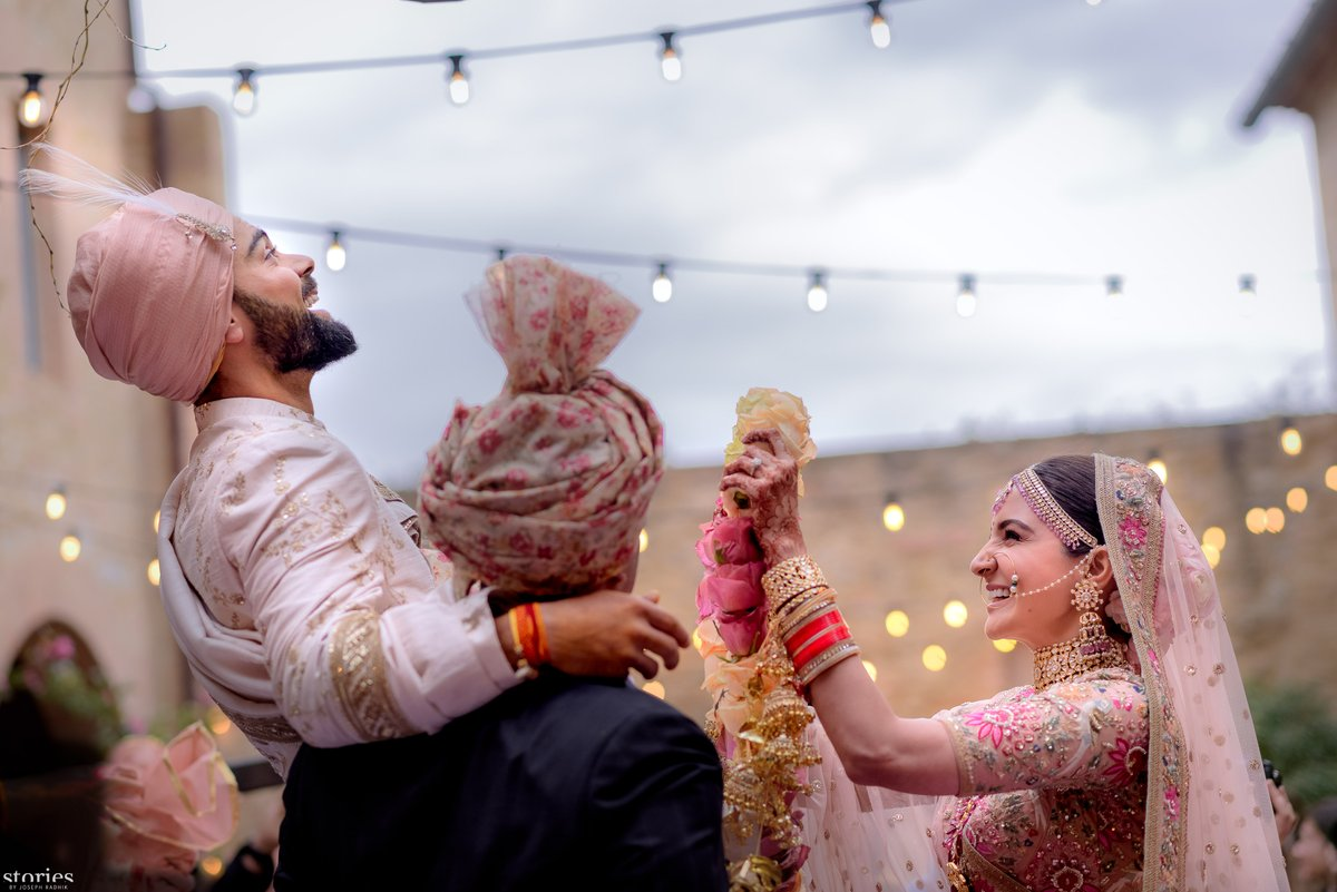 Today we promised each other to be bound in love for ever. We're truly blessed to share the news with you.This beautiful day will be made more special with love & support of our family of fans & well wishers. Thanks for being an important part of our journey, tweets Virat Kohli