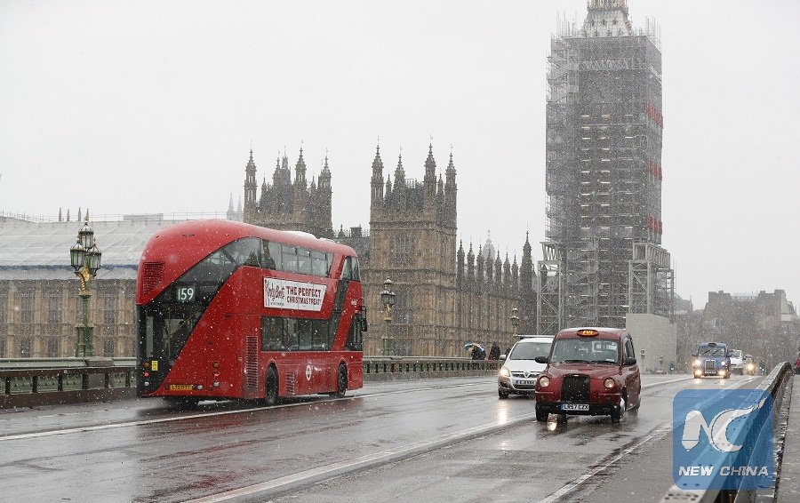 Frost, rains, icy roads after heavy snowfall cause major travel disruption across large parts of Britain on #BlackIceMonday https://t.co/fq0AtSilIo