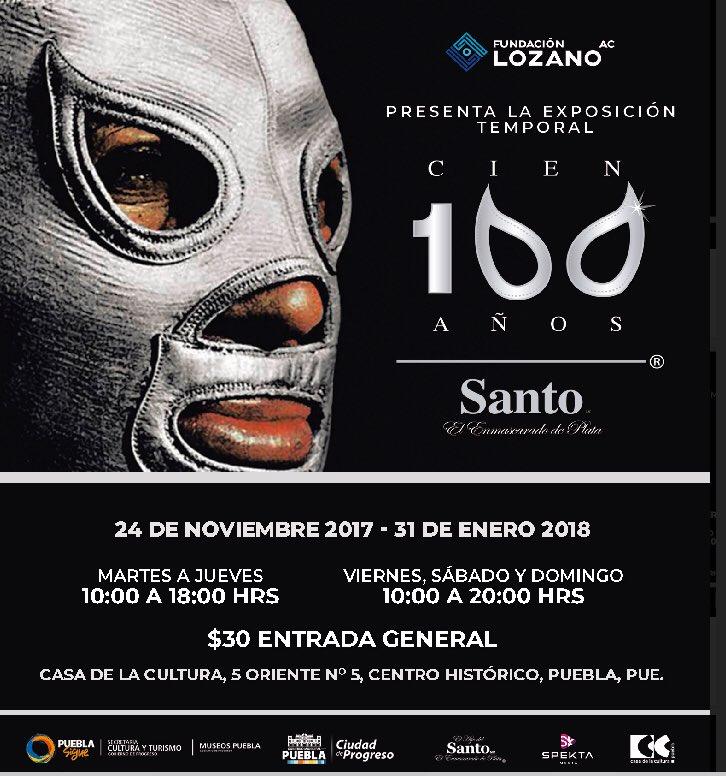 ¿Ya visitaron la exposición #Santo100Año...
