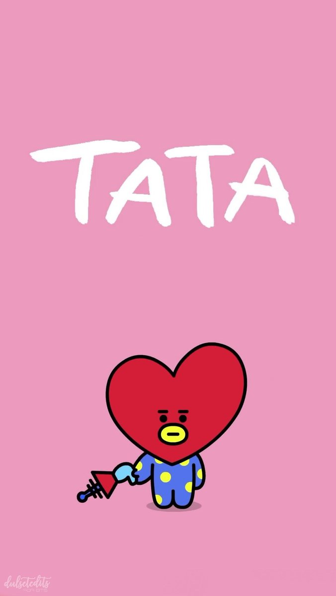 """둘 셋 편집🌙 on Twitter: """"BTS BT21 Tata Wallpaper RT If you're going to save or use it 😊😊😊 @BTS_twt… """""""