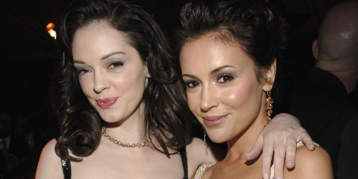 Rose McGowan attacks Alyssa Milano for supporting Harvey Weinstein's wife https://t.co/ChH00bkN7y