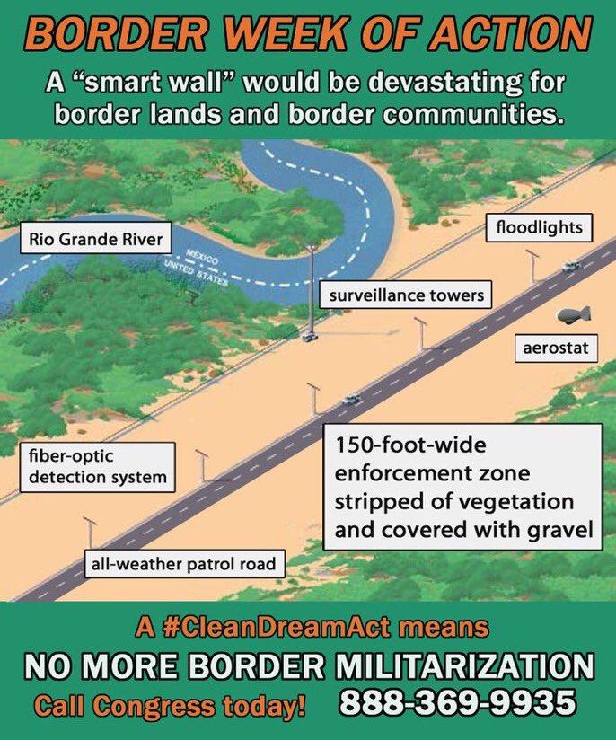 borderweekofaction hashtag on Twitter