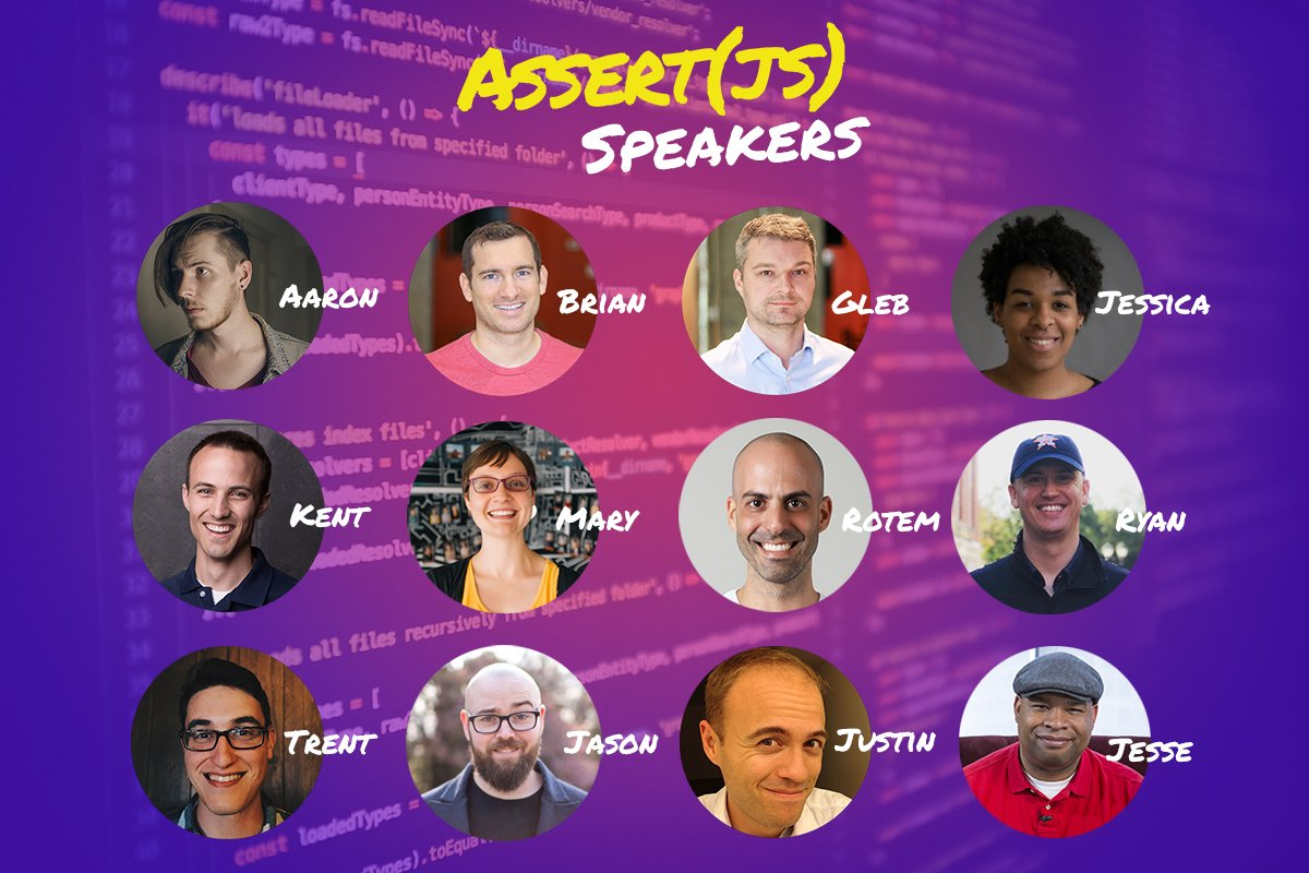 Ready for the big reveal? Here it comes! @assertjs  is proud to announce an additional speaker to join our amazing lineup!!! Give a warm welcome to @jesselpalmer  from @CapitalOne    For details on Jesse&#39;s talk, visit:  https://www. assertjs.com/speakers/  &nbsp;     #javascript #testing #angularjs<br>http://pic.twitter.com/DJYcLJ7s2b
