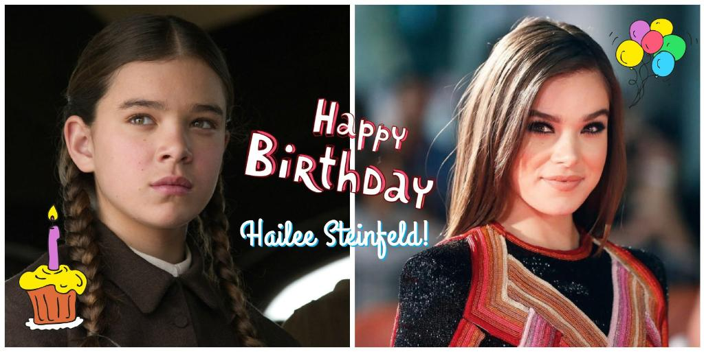 Happy birthday, @HaileeSteinfeld! You've always been our #1 💗 #truegrit #pitchperfect3 #haileesteinfeld