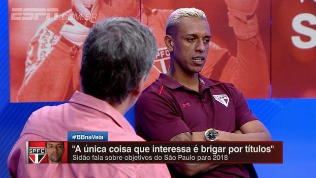 Sidão fala sobre o legado do goleiro Rogério Ceni e da missão de ser seu substituto https://t.co/ENWCHRWCvD