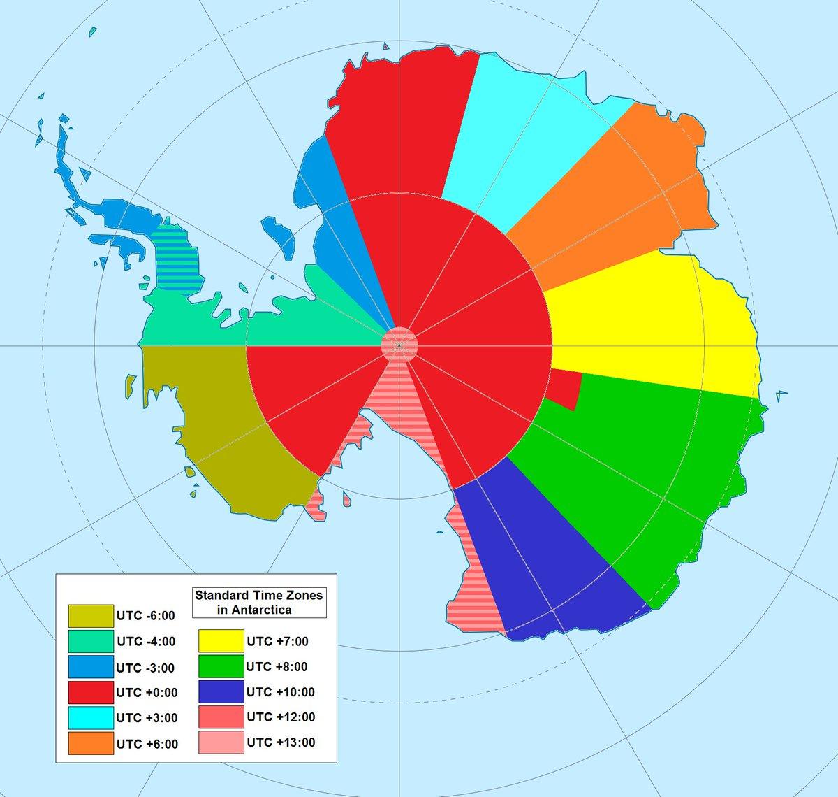 Is this what permanent jet lag looks like? #Antarctica #TimeZones <br>http://pic.twitter.com/SHrtO8ztZt