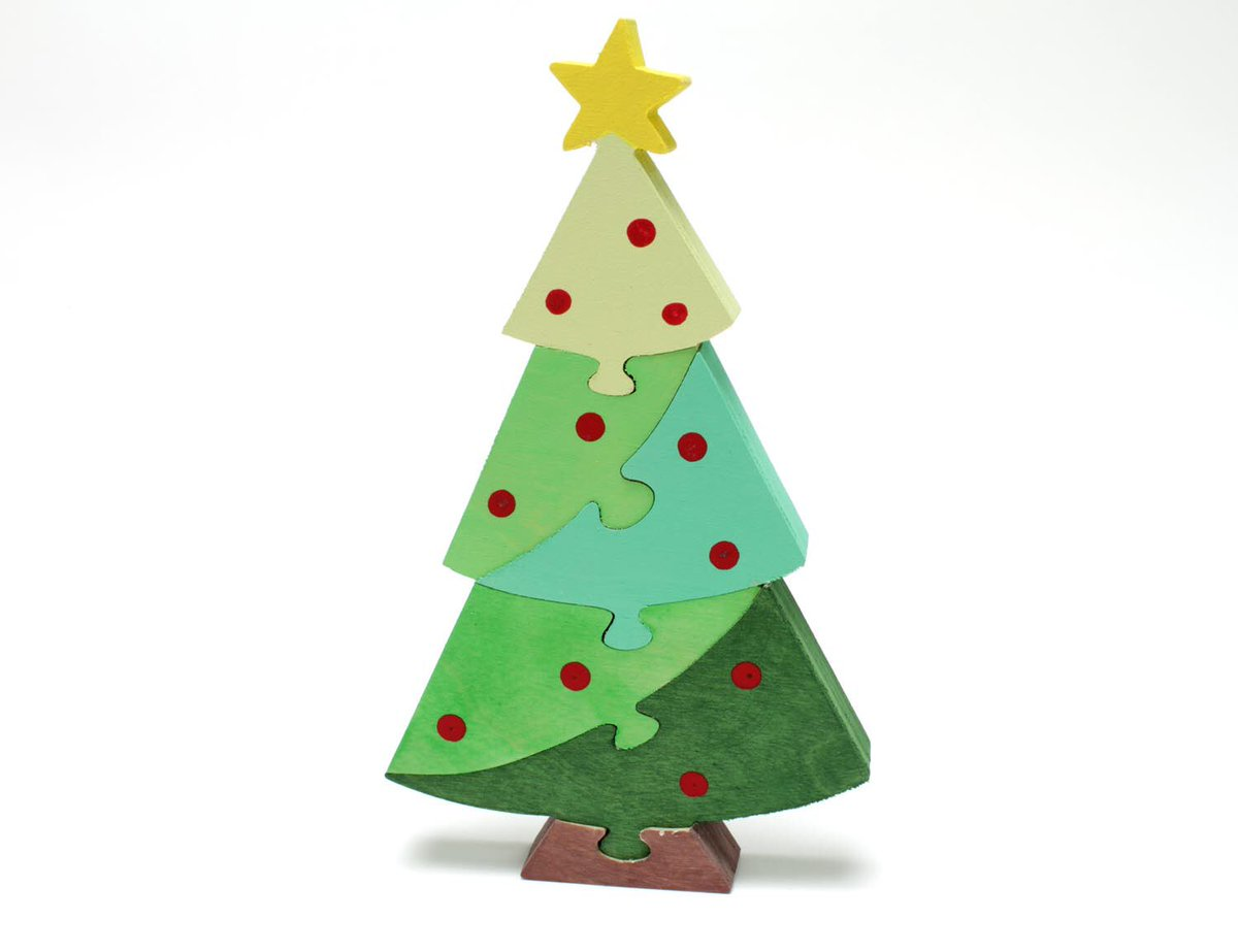 On the 10th day of #christmas  #santa hit his stride with this #christmastree #puzzle and #decor still shipping in time for #Xmas  http:// berkshirebowls.etsy.com  &nbsp;  <br>http://pic.twitter.com/ptVSZcDPLI