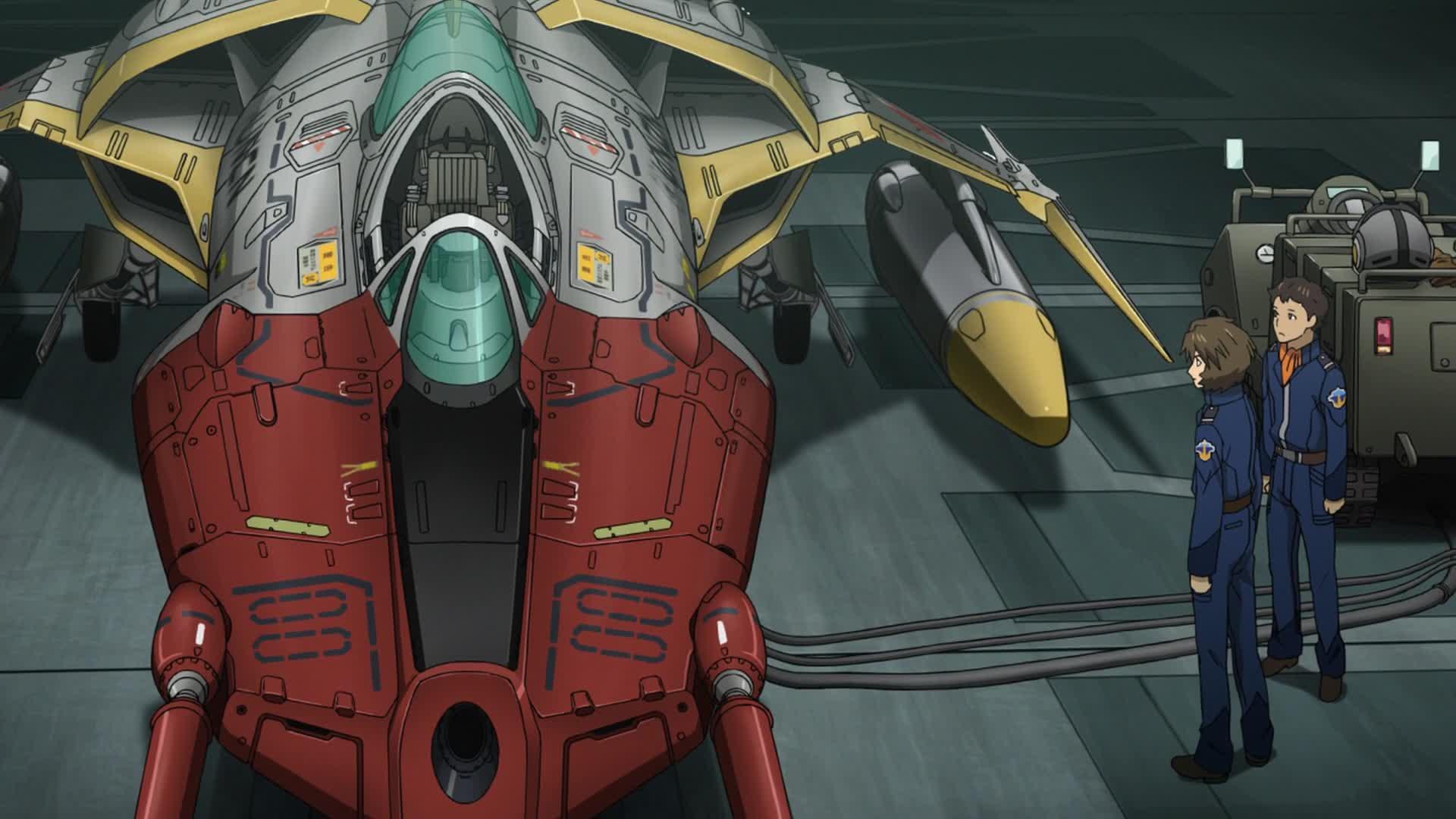 Anime Nyc On Twitter Every Frame Of Space Battleship Yamato 2199