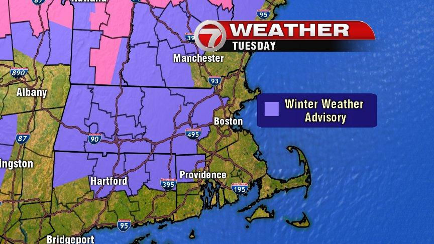 Winter storm warning in effect into Thursday