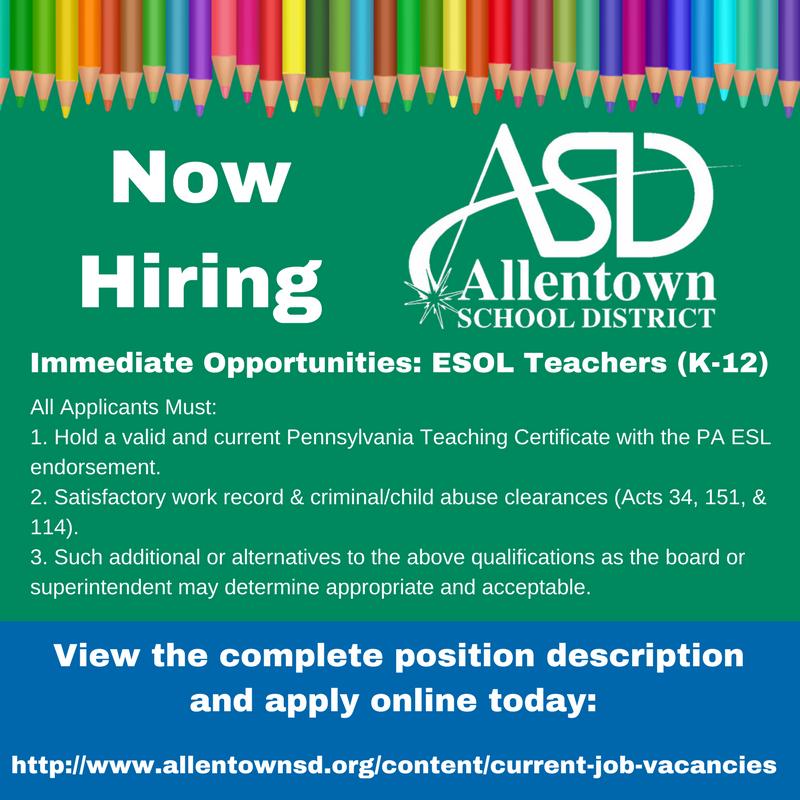 Allentown Schools Twitter The Allentown School District Is