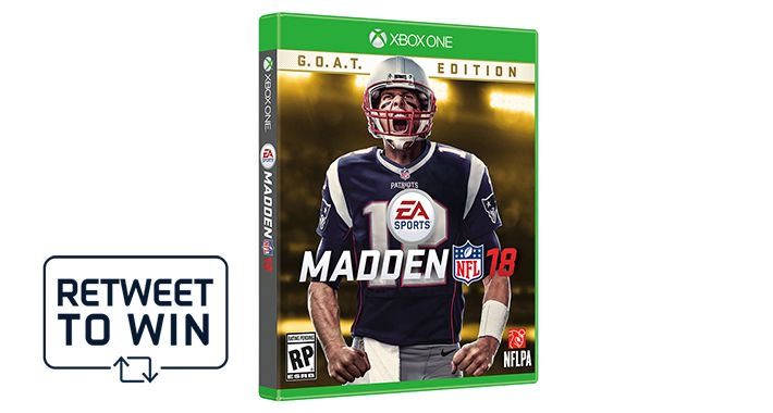 b0d53c0b5 A game day  MaddenMonday! RT to enter to win a copy of  EAMaddenNFL 18.  Rules  http   bit.ly 2l0ljFR pic.twitter.com kfokQ0ryVt