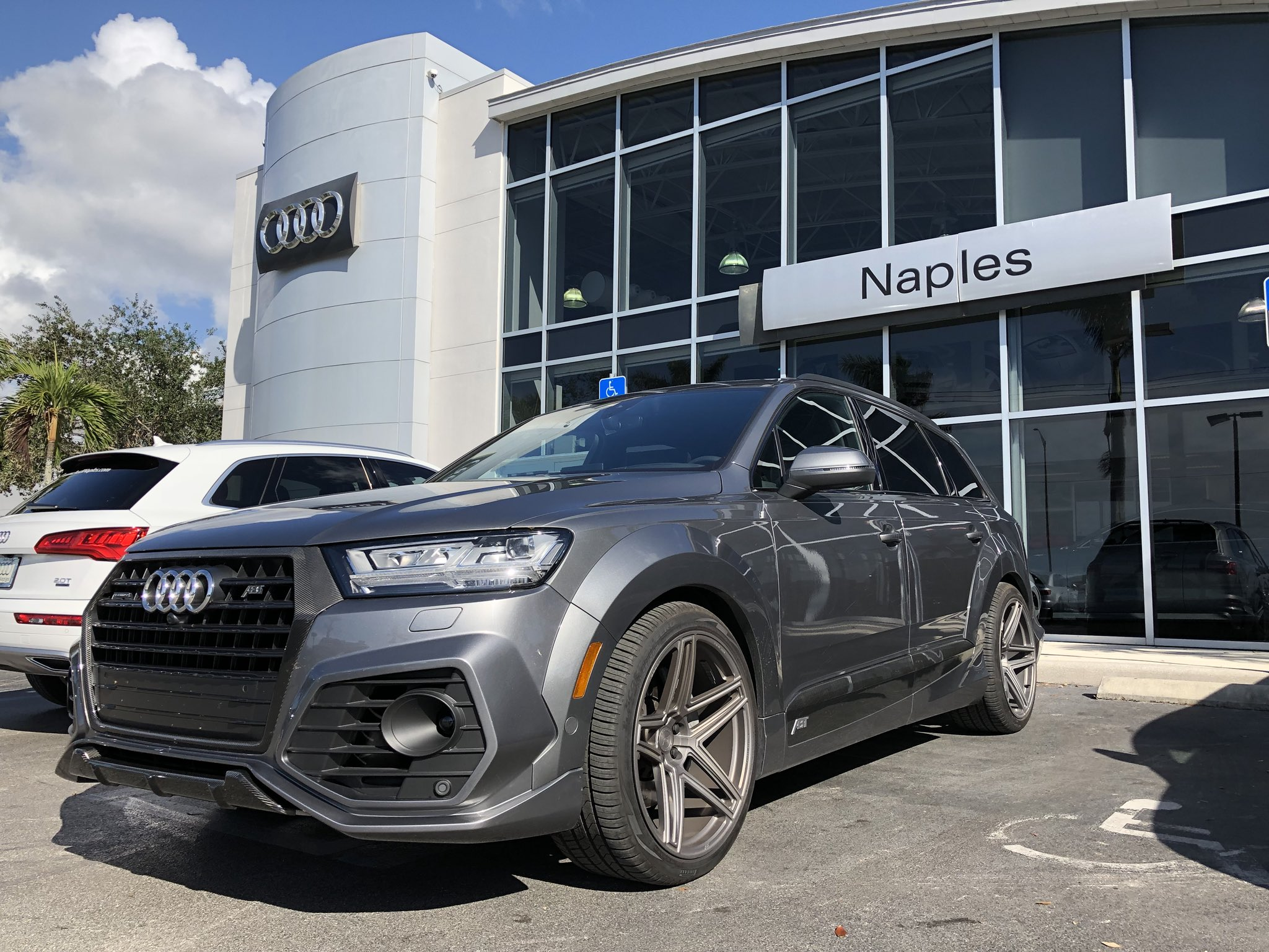abt sportsline on twitter you want to see the audi q7 abt vossen