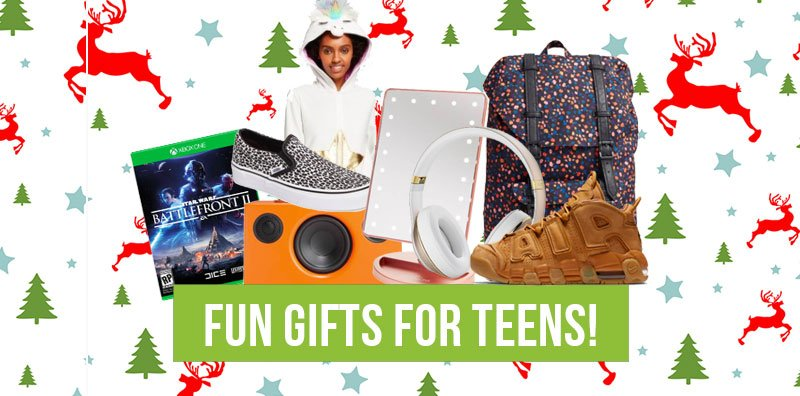 Fun Gifts for Teens!  Well, it is safe to say that my niece and nephew are officially teenagers, and in thinking...