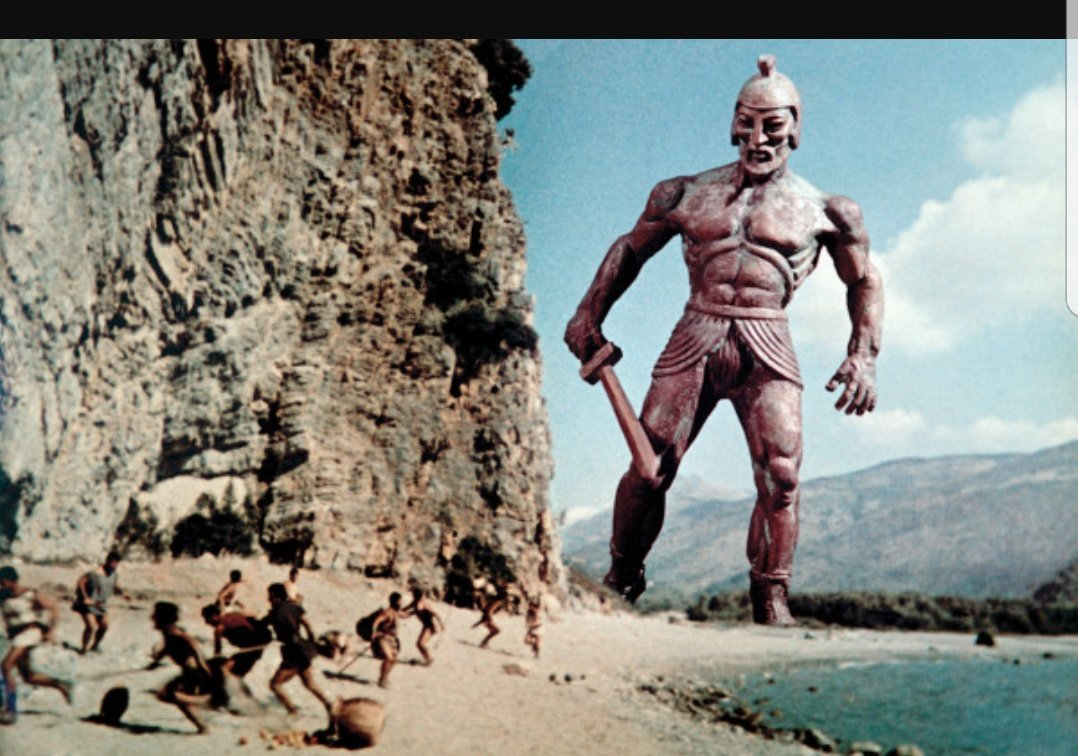 In fact thinking about it any Film with Ray Harryhausen's work in it made my Christmas. A gateway to the imagination and terrifying at times