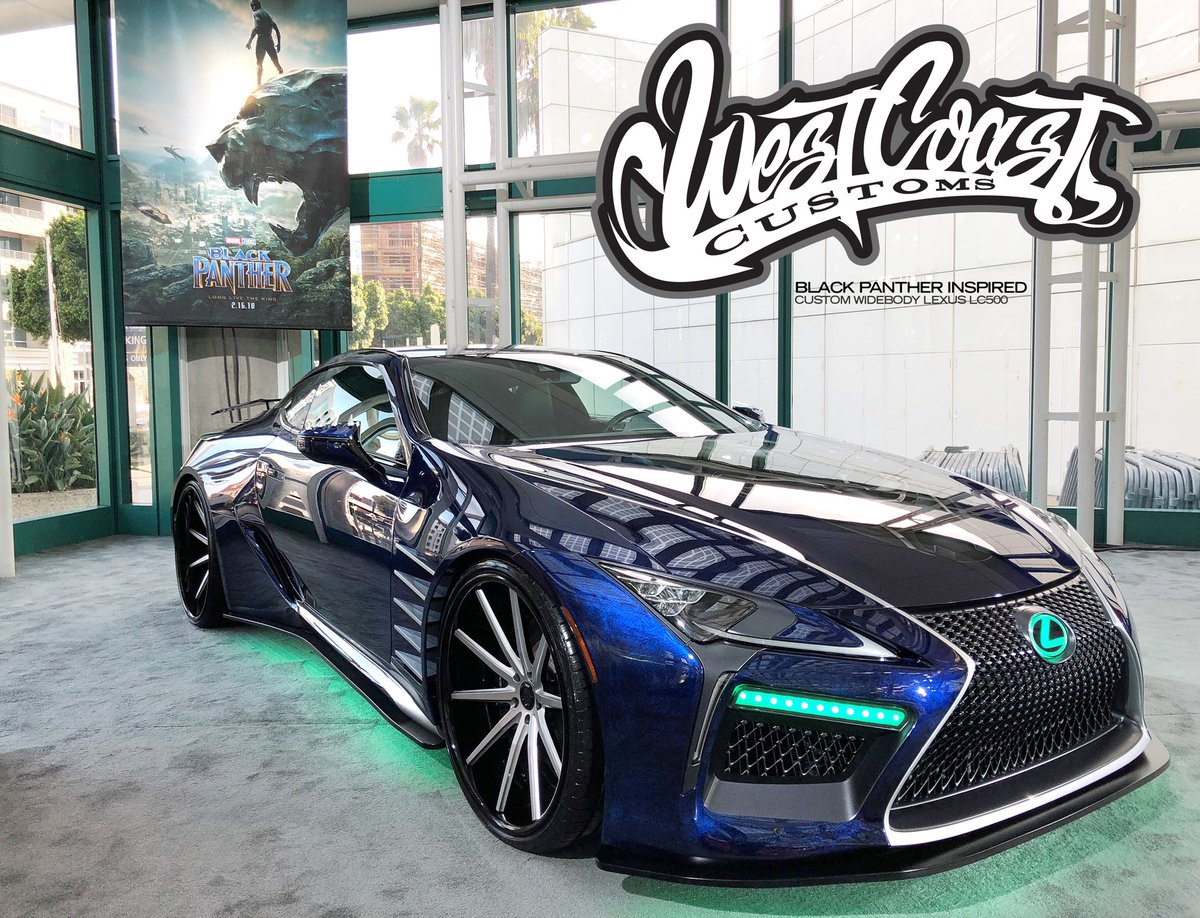 west coast customs on twitter that 39 s a wrap laautoshow 2017 so proud to have done this. Black Bedroom Furniture Sets. Home Design Ideas