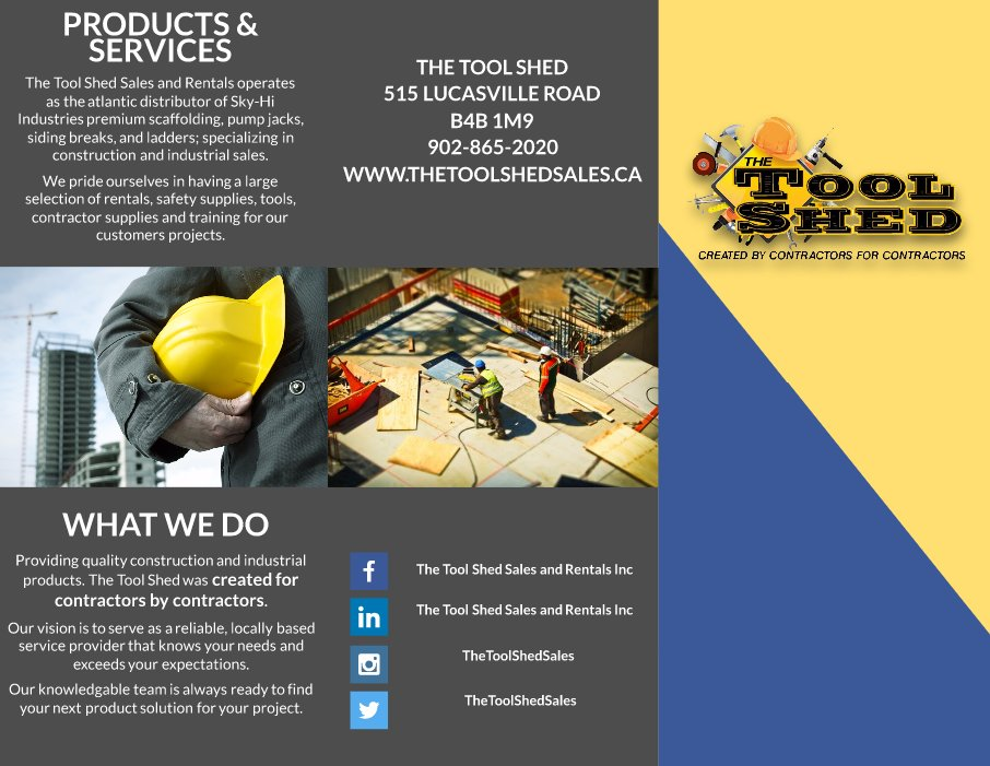The Tool Shed (@ToolShedSales) | Twitter