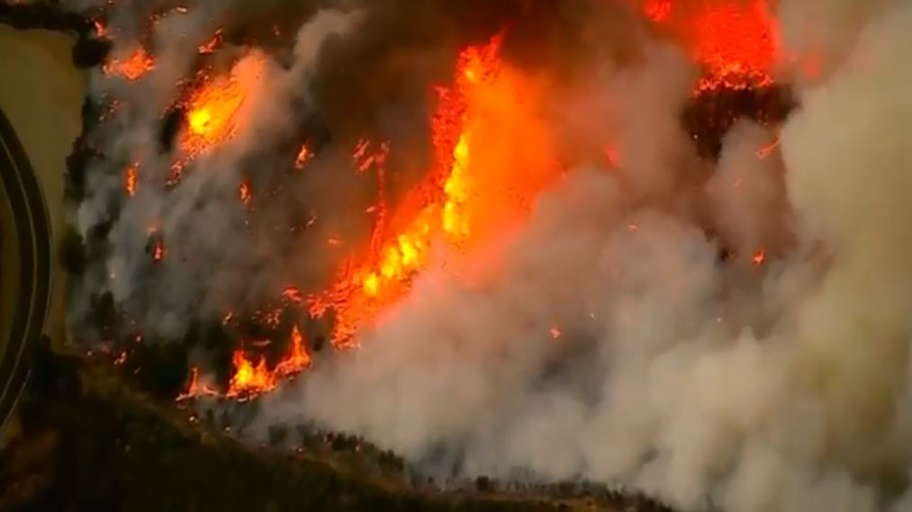 #CaliforniaWildfires larger than NYC and Boston combined #8NN https://t.co/YT7W5xMugI