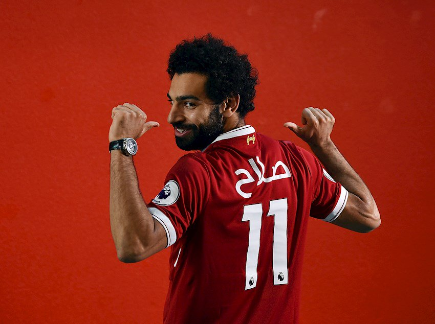 @22mosalah 🇪🇬 named #BBC African #Footballer of the Year 2017
