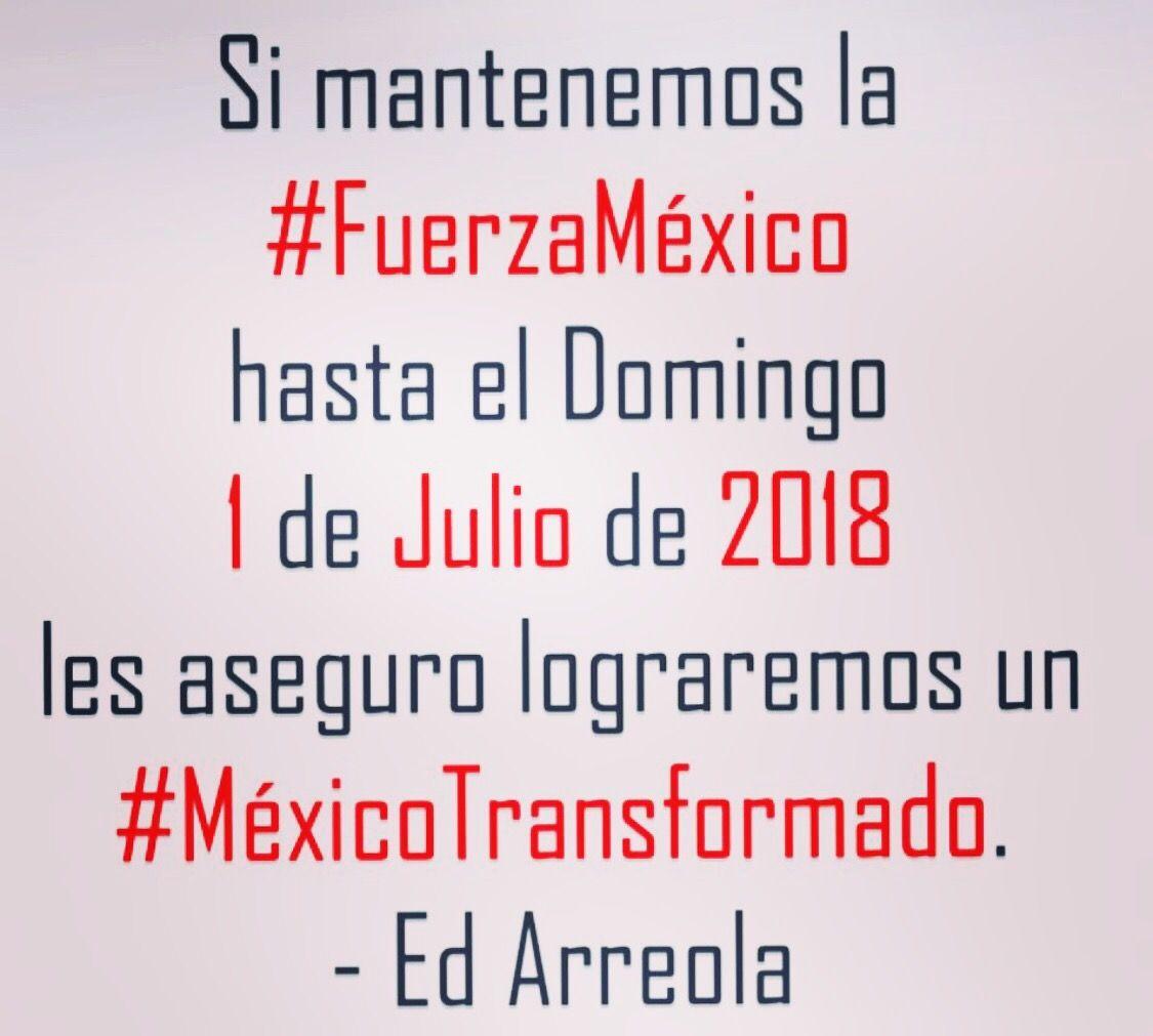 Vamos #FuerzaMéxico a 29 domingos para transformar a México #AdiosPartidos #BienvenidaSociedad #MéxicoTransformado #MásHumanidad #Liderazgo https://t.co/Gy19jq9N9l