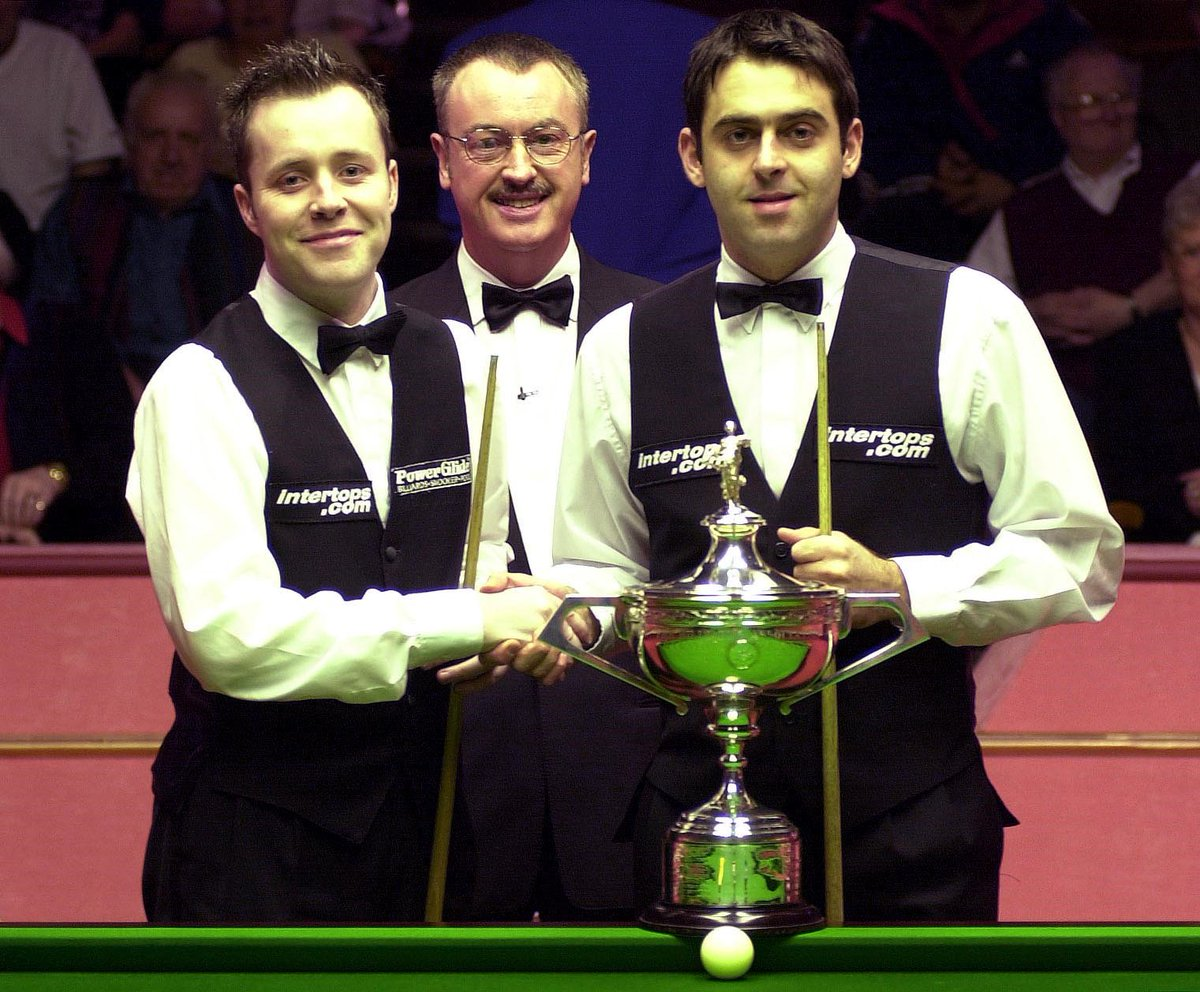 John Higgins on Ronnie O'Sullivan: 'I knew he was going to be greatest at 15, he had a glow like Ready Brek man' https://t.co/oaaPtvnC4r #snooker #ScottishOpen