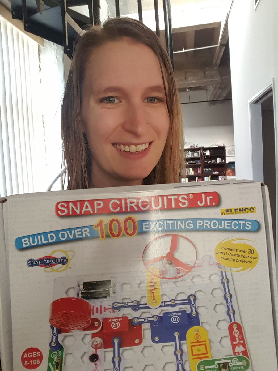 Teagan Wall Phd On Twitter The 4th Day Of Nerdmas I Gave To Snap Circuits Jr 100 Kit Charity A W Batteries Challenge My Fellow Billnyesaves Writers Join Me And Nerdbrigadela In Donating Science Themed Gifts
