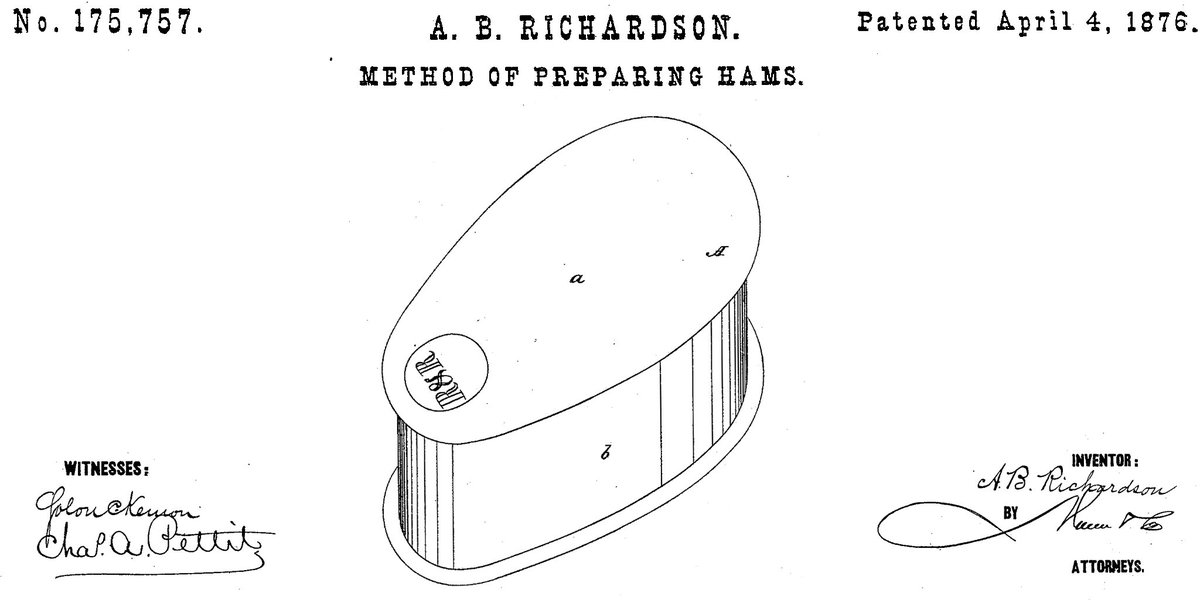 We like to ham it up over the holidays. #trademarks #patents
