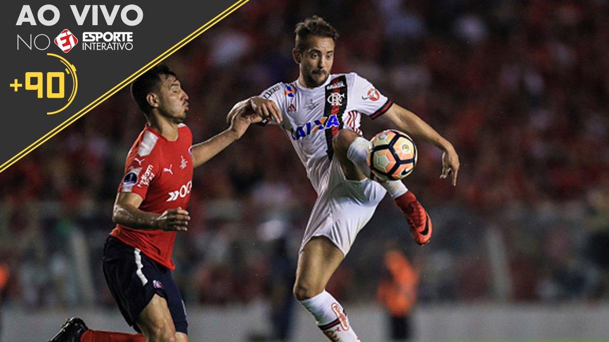 Chegou a hora do Flamengo no #Mais90. Quem será que leva o título da Sul-Americana, torcedor? Mande sua opinião para nossa mesa!