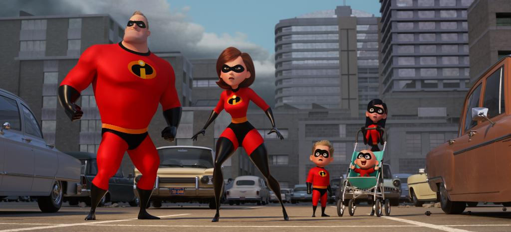 The first look at #Incredibles2 suggests Jack-Jack might be joining the fight!