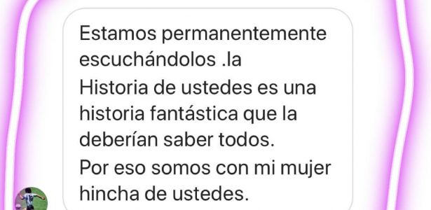 Maradona manda mensagem para Zezé Di Camargo e diz que é fã da dupla https://t.co/qciMnk8tqL
