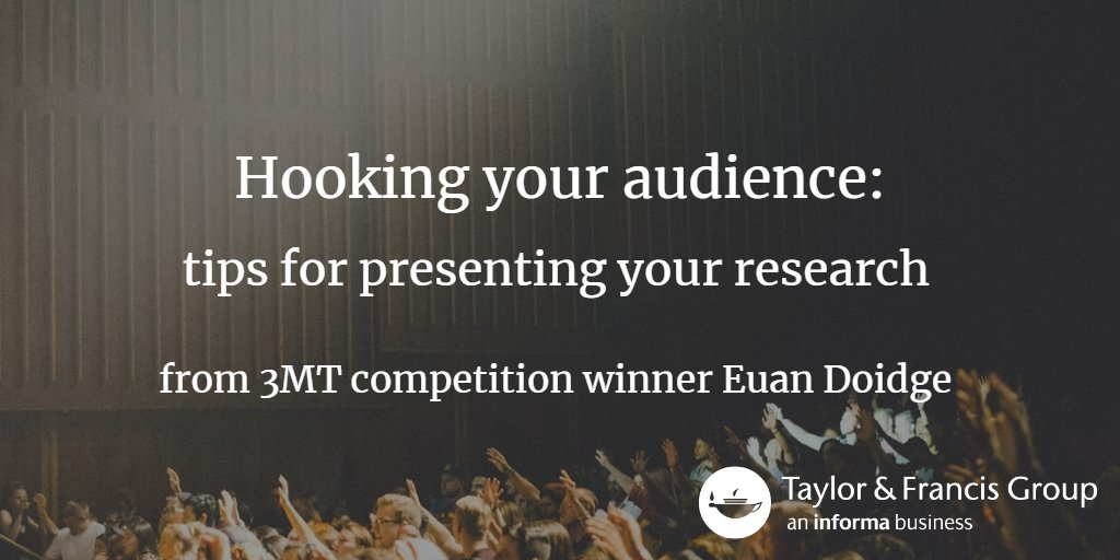 T&amp;F were proud to sponsor the @Vitae 3 minute thesis competition this year. We caught up with winner @EuanDoidge for tips on presenting research:  http:// ow.ly/heuT30gCb8x  &nbsp;   #vitae17 <br>http://pic.twitter.com/pvjeXwMyFl
