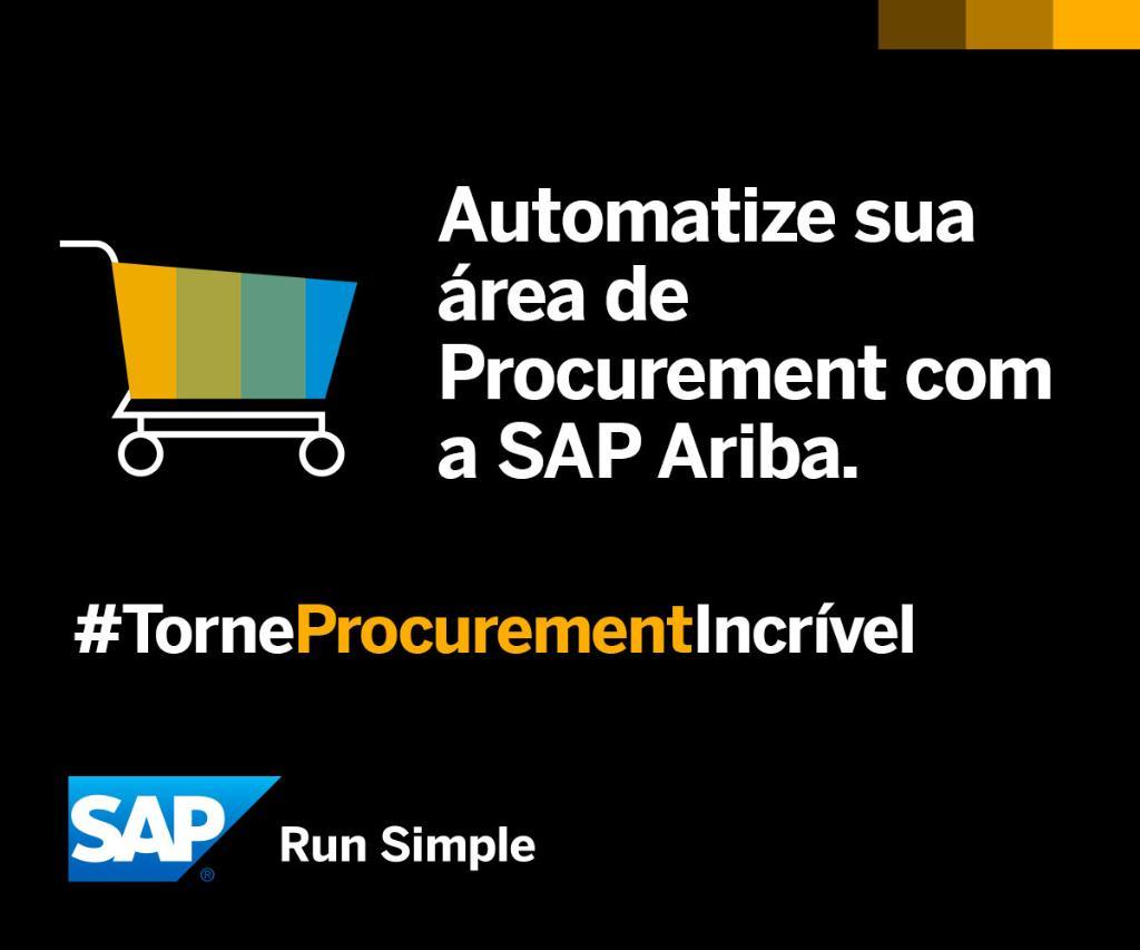 Registre-se e saiba como a rede SAP Ariba pode revolucionar seus processos: #TorneProcurementIncrível https://t.co/CtHmwazjzk