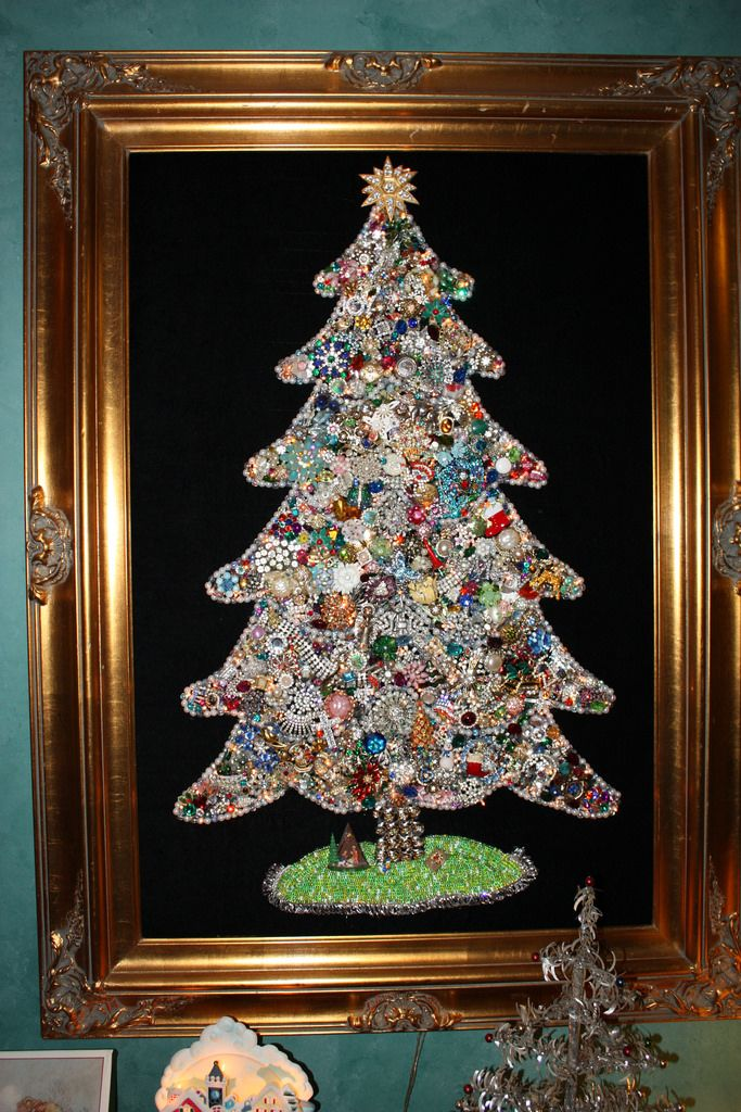 Jewelry Christmas Trees.Gettv On Twitter Who Remembers Costume Jewelry Christmas