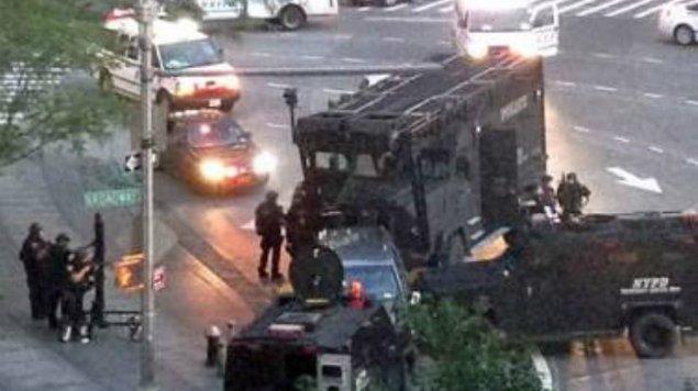 ▶ Video   Bomba explotó prematuramente,...