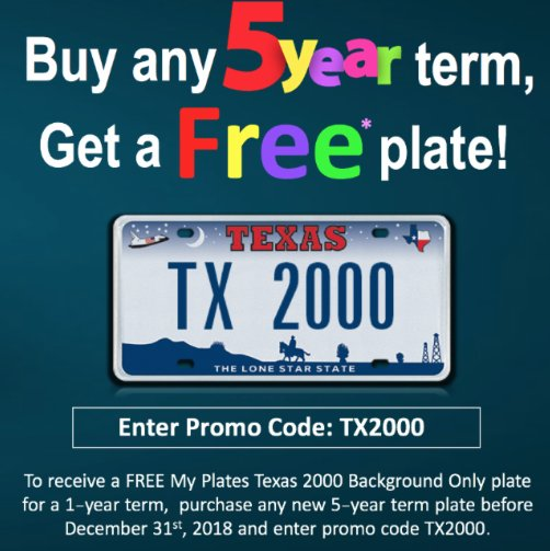 My Plates Texas >> Myplates Com On Twitter Get Yer Free Plate Get Yer Free
