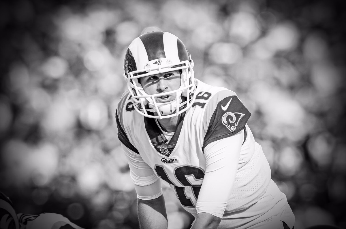 'I think every single week provides a great learning opportunity for him every single play' -- #Rams coach Sean McVay on second-year QB Jared Goff ➡ https://t.co/DTIYSkpvCW ⬅ #NFL #PHIvsLA #PHIvsLARR
