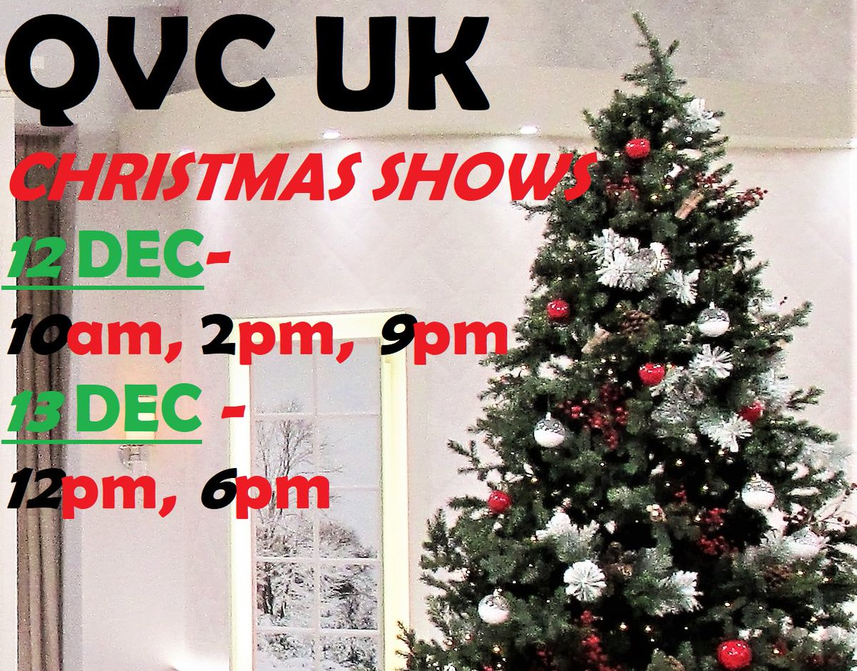 nina leonard nyc on twitter looking forward to our qvc uk shows start tomorrow happyshopping - Nyc Christmas Shows