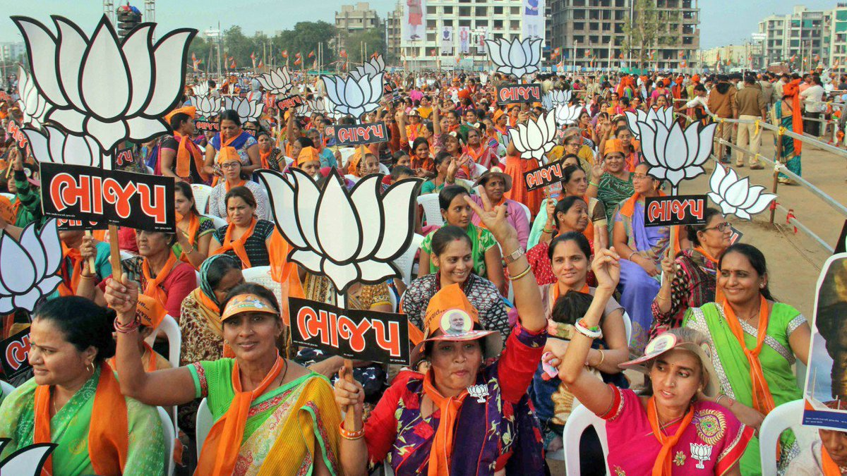 With Vaghela virtually absent, BJP confident of good show in Central Gujarat  https://t.co/FFx70mwfyr  #GujaratElection2017
