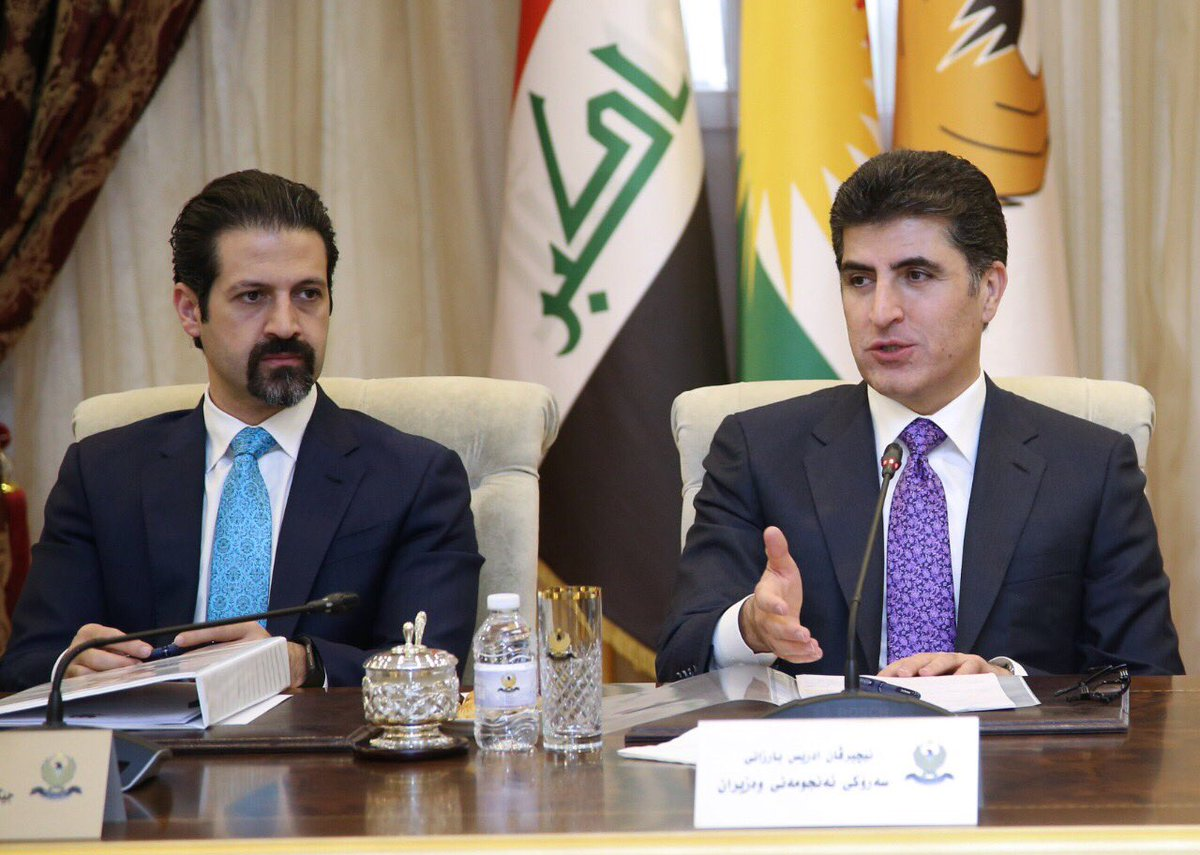 #Kurdistan Region Prime Minister @PMNBarzani thanks US-led@coalition  forces for their support against ISIS  https://t.co/UbWLLEUh00