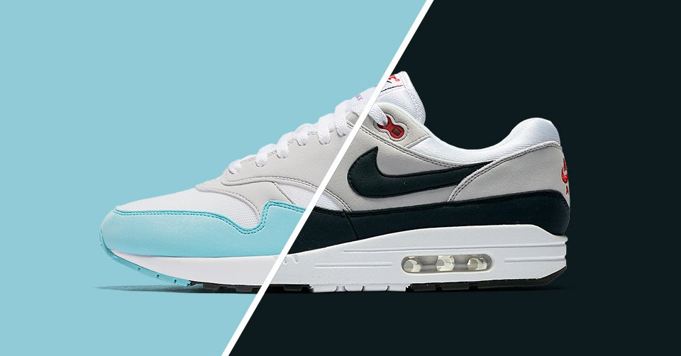 2b229b7bfea9 Two OG colourways of the Air Max 1 Anniversary return this Thursday at 3AM  EST in