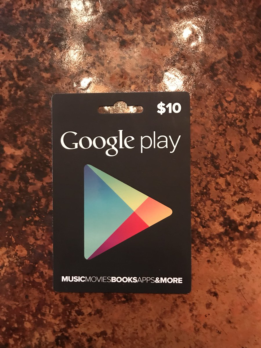Who wants this $10 gift card for Google Play? ReTweet and I will mail a lucky fan this gift card + a hand written letter.