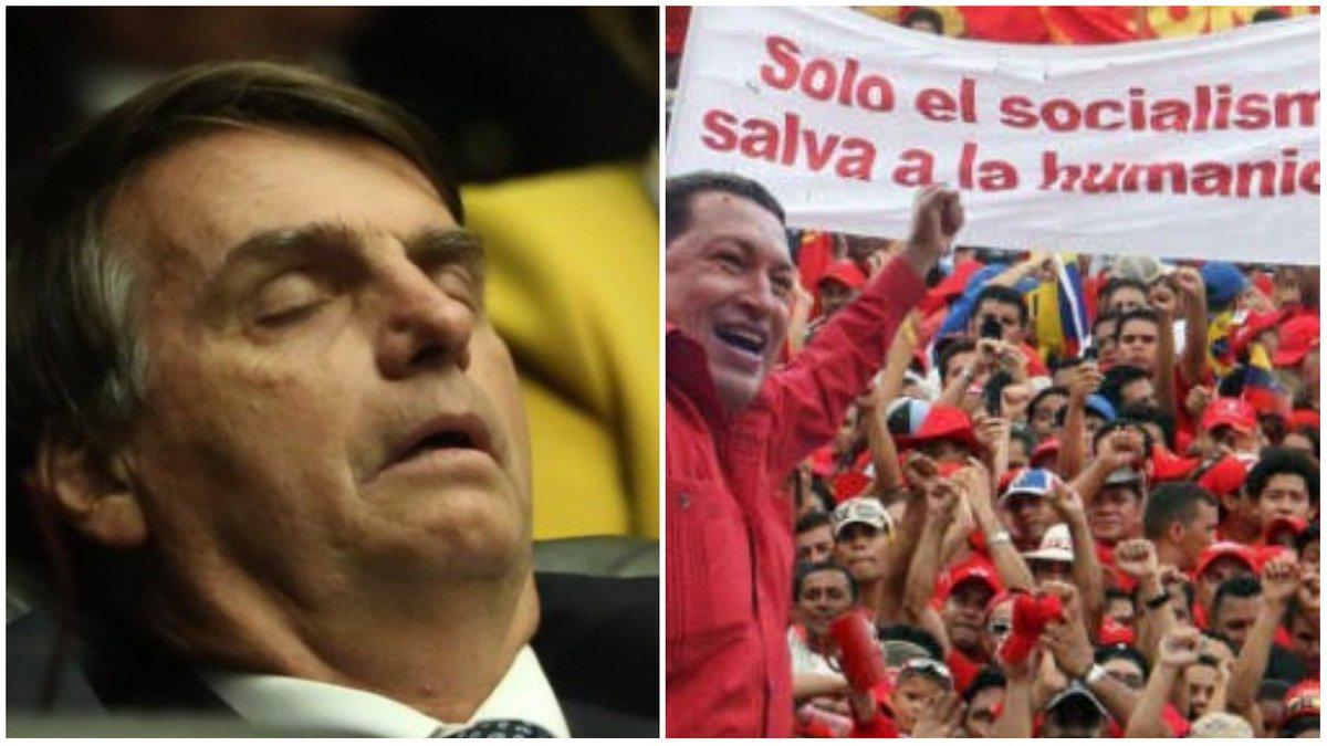 Em 1999, Bolsonaro dizia que Chávez era uma esperança para a América Latina https://t.co/YFFPWIWtco