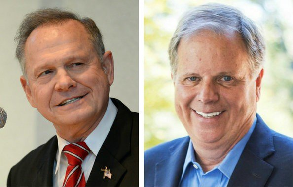 Different polls show wildly different outcomes. A new Fox News poll shows Doug Jones with his largest lead over Roy Moore: https://t.co/JB58T7lsLm #alpolitics #alsen