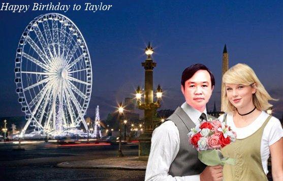 Taylor Swift Happy Birthday to you!