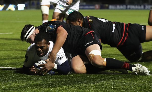 Saracens 14-46 Clermont: Saracens hammered in delayed Champions Cup clash https://t.co/Qhzmq2INU3 https://t.co/fIgL5pn0W9