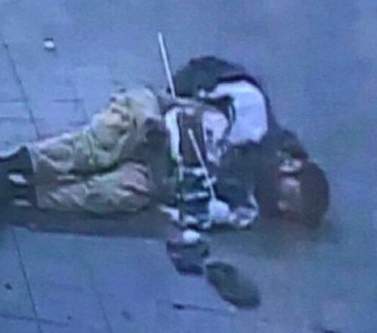 This photo of the NYC terror suspect on the ground was shared by Port Authority police union.   Here's everything you need to know about the attack so far: https://t.co/xAcwAH5Mjz