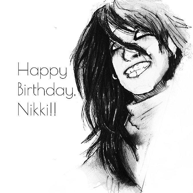 Happy Birthday to Nikki Sixx!