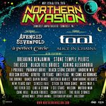 So stoked to play @NorthInvasion 2018! With @TheOfficialA7X @aperfectcircle & more!